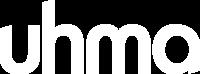 Mainostoimisto Uhma / logo valkoinen