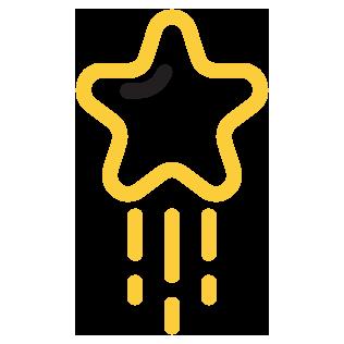 Mainostoimisto / Visuaalinen ilme / tähdenlento