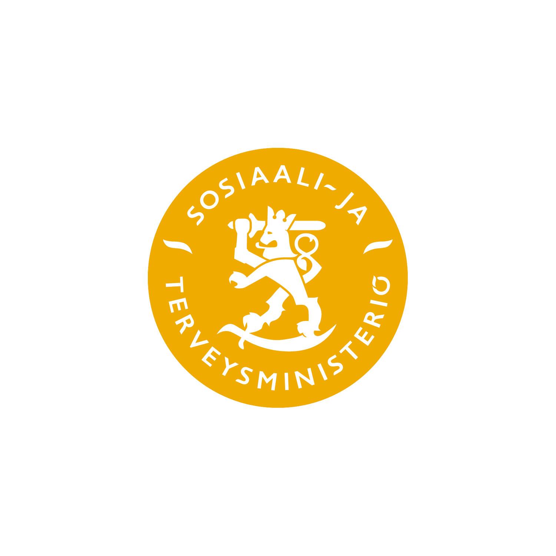 Sosiaali- ja terveysministeriö -logo