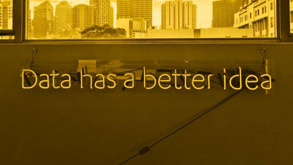 Blogi / Mitä on datavetoinen markkinointi? / Data has a better idea